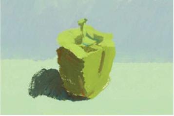 色彩青椒的画法(2)