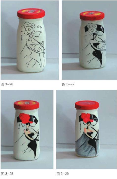 瓶身手工制作步骤(学前美术教育)