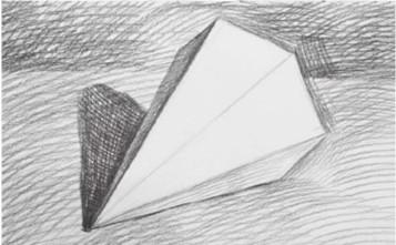 六棱锥体画法(3)