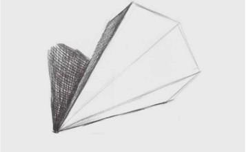 六棱锥体画法(2)