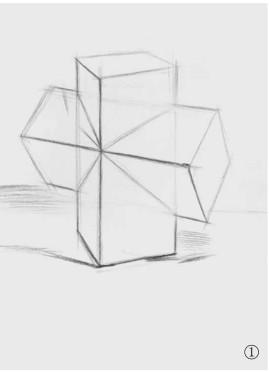 石膏石膏正方体的画法(1)