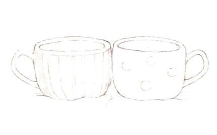 白蓝瓷杯(1)