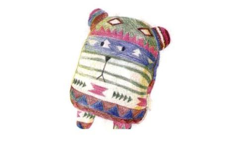 彩色布偶熊怎么画(2)