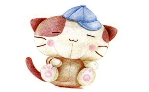 儿童小猫布偶怎么画(5)