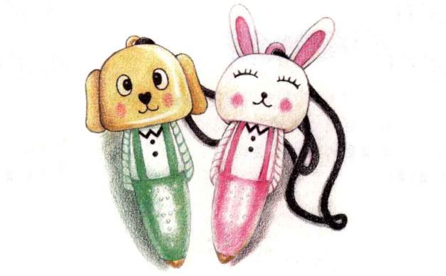 儿童小动物笔怎么画(3)