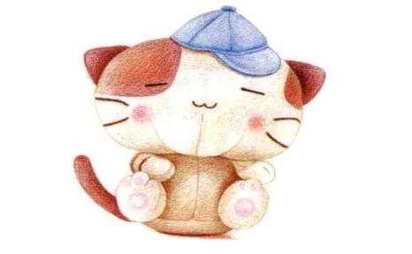 儿童小猫布偶怎么画(6)